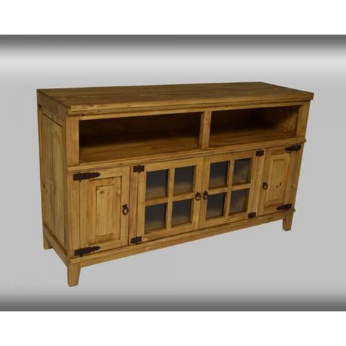 "PFC Furniture Industries - Rustic Honey 60"" Media Console"