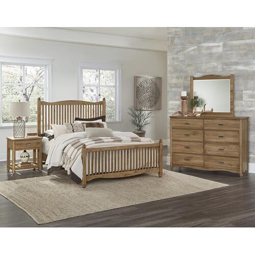 Gallery - American Maple Collection Headboard, Footboard and Rails