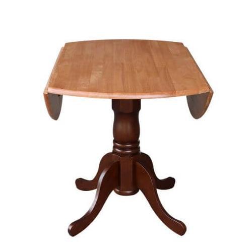 42 Round Drop Leaf Table