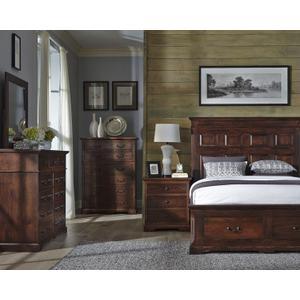 Longmeadow Panel Bed