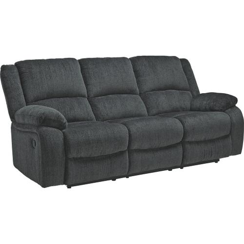 ASHLEY 7650488-7650494-7650425G Draycoll Reclining Sofa, Reclining Console Loveseat & Rocker Recliner Group