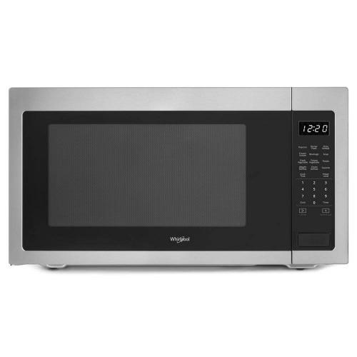 Whirlpool 2.2CF Fingerprint Resistant Stainless Steel Countertop Microwave