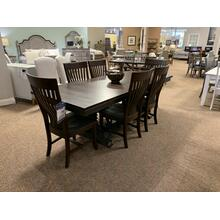 Sonoma Dining Table with 6 Amanda Chairs