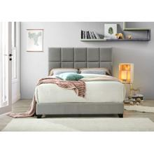 Queen Gray Bed