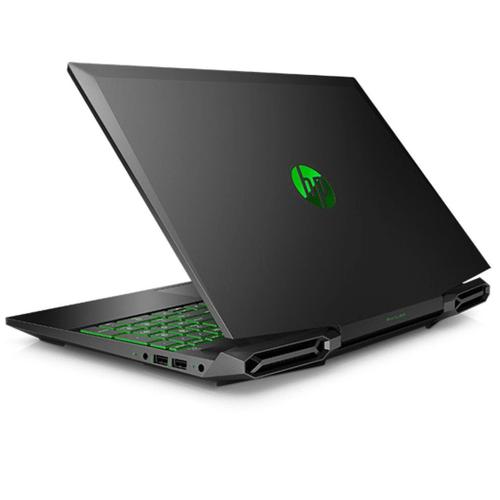 HP - HP 15DK1056WM Gaming Laptop Black/Green 15.6, i5-10300H, 8GB, 256GB SSD, GTX 1650