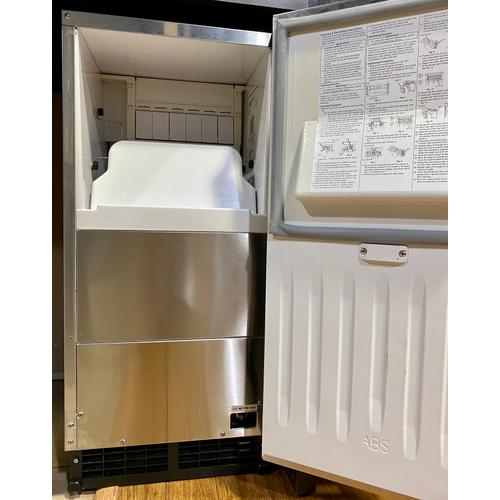 Product Image - Hoshizaki AM50BAJDS, Top Hat Cuber Icemaker, Air-cooled, Custom Cabinet Ready