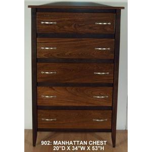 Amish Furniture - Manhattan Chest