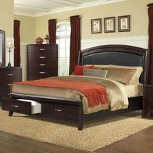 See Details - Delaney  Queen Bed with Storage Footboard