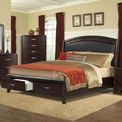 Elements - Delaney  Queen Bed with Storage Footboard
