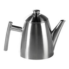 Frieling Stainless Steel Primo Teapot with Infuser Brushed Finish, 34 oz