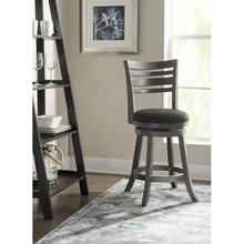 Hirsch Counter Stool Grey