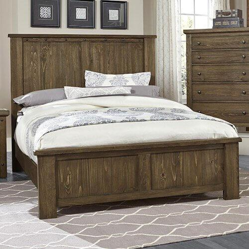 Vaughan-Bassett - Queen Panel Bed***VESTAL AND SYRACUSE ONLY***