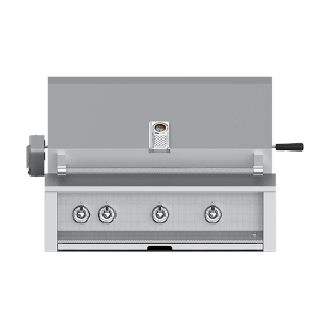 """Aspire By Hestan 36"""" Built-In U-Burner, Sear and Rotisserie Grill NG"""