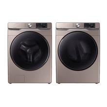View Product - Samsung 4.5 Cu. Ft. Front Load Washer, Wi-Fi Enabled, Super Speed, Steam and 7.5 Cu.Ft. Electric Dryer, Wi-Fi Enabled with Steam Sanitize