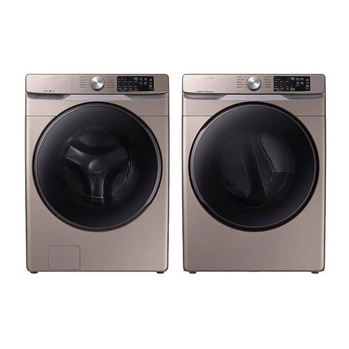 Packages - Samsung 4.5 Cu. Ft. Front Load Washer, Wi-Fi Enabled, Super Speed, Steam and 7.5 Cu.Ft. Electric Dryer, Wi-Fi Enabled with Steam Sanitize