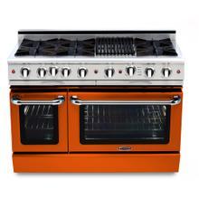 "See Details - Culinarian 48"" Gas Self Clean Range (Custom RAL Color)"