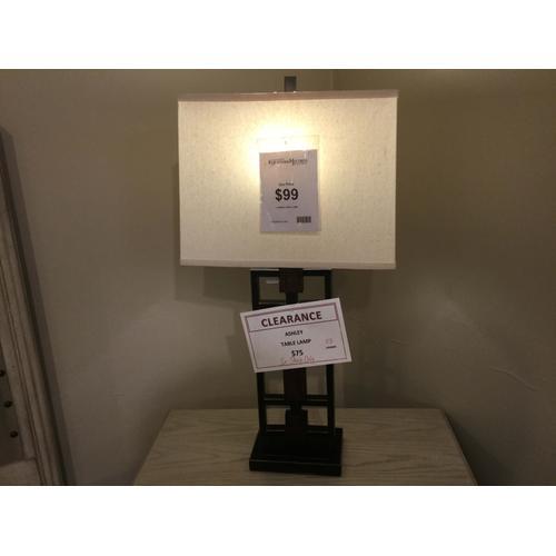 "Ashley ""Omaris"" Bronze L406894 Table Lamp FD 32""H"