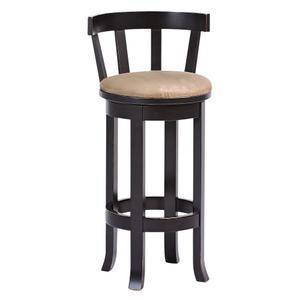 Amish Furniture - Belmont bar stool with cushion seat