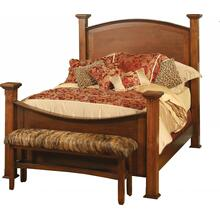 Sonora Collection- Wood Panel Bed
