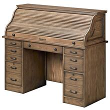 Rustic Roll-Top Desk
