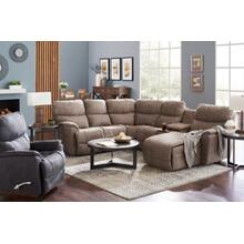 Trouper 3pc Reclining Sectional