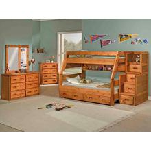See Details - High Sierra Twin/Full Bunk Bed