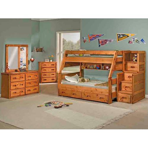 High Sierra Twin/Full Bunk Bed
