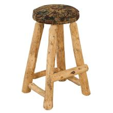 "RRP390  30"" Round Barstool with Upholstered Seat"