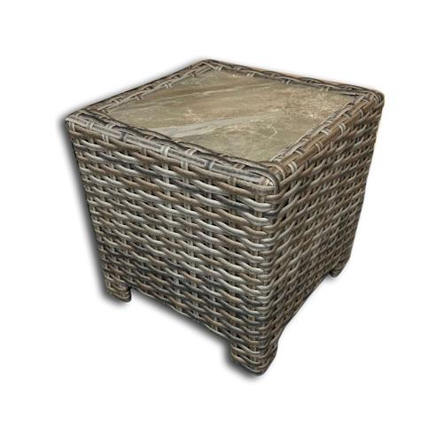 Inverness Wicker End Table