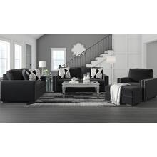 Gleston Onyx 4PC Package: Sofa, Loveseat, Chair and Ottoman (12206)