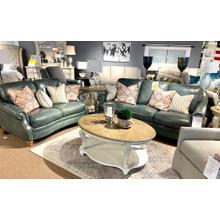 London Silverlake Leather Sofa & Loveseat