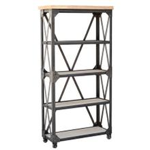 Iron Works Bookcase