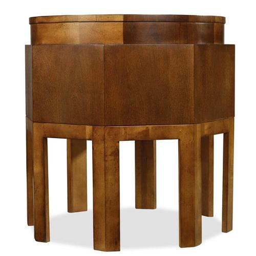 Hooker Furniture - Trilogy Oval Cocktail Table/Nesting Tables/Octagonal Table-4 pc. Group-Floor Samples-**DISCONTINUED**