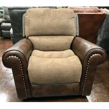 Two Toned Glider Recliner