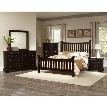 Vaughan-Bassett - Complete Bedroom Set ( Also Available As Individual Pieces )