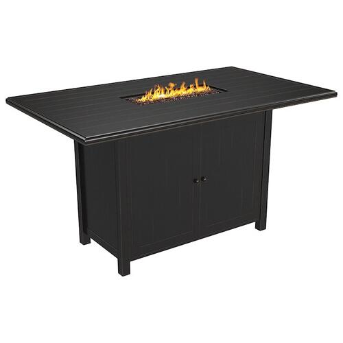 Signature Design By Ashley - Perrymount Bar Table with fire