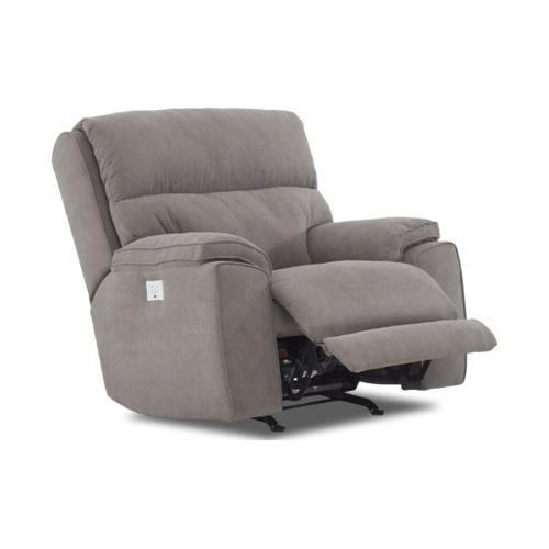 Klaussner - Power Rocking Reclining Chair - Omaha Collection