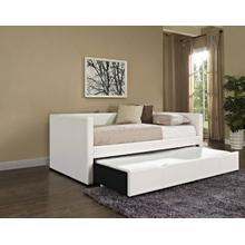 White Daybed With Trundle Box