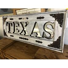 See Details - TEXAS MIRROR WHITE WASH