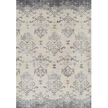 AN11 Antigua Pewter 5x8 Rug