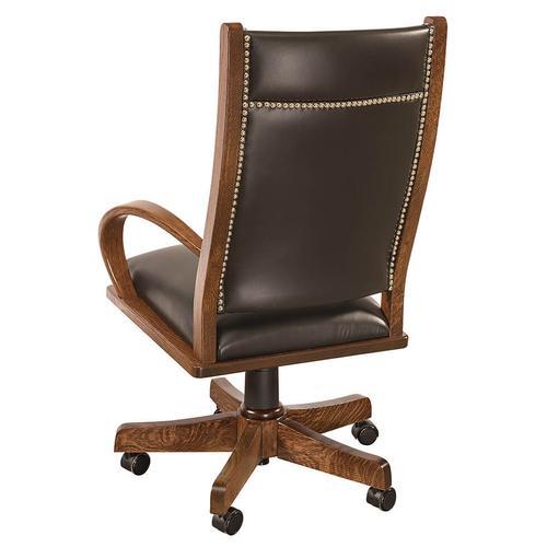 Amish Furniture - Wyndlot Desk Chair