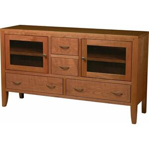 Amish Custom Crafted Solid wood Console