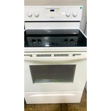 See Details - USED- 4.8 cu. ft. Capacity Electric Range with Self-Cleaning System- E30WHGLAS-U   SERIAL #73