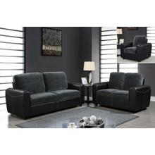 Champ Thunder/Black - Loveseat