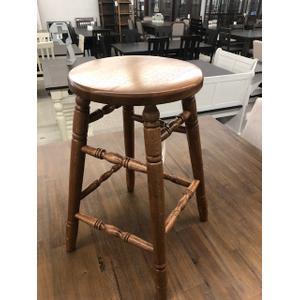 "Astro Furniture - 24"" SOLID OAK BAR STOOL #A2242"
