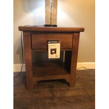 """See Details - Vaughan Bassett """"Sienna"""" 1 Drawer Nightstand Model# 742-226"""