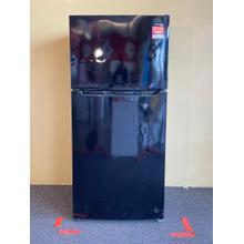See Details - Frigidaire Top and Bottom Black Refrigerator