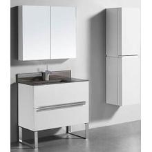 "Product Image - SOHO 36"" VANITY ONLY - GLOSSY WHITE"