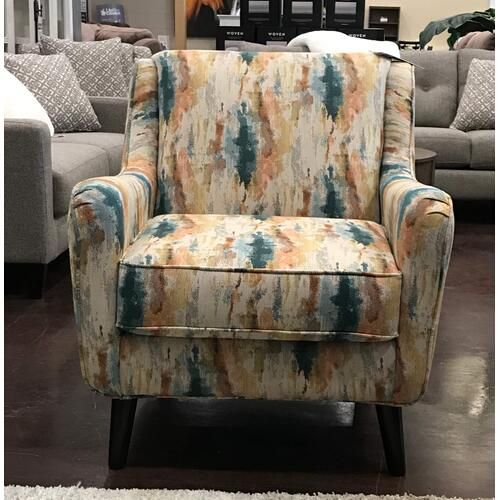 Multi Color Accent Chair