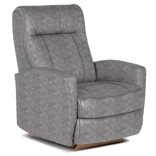 Best Home Furnishings - Costilla Power Leather Recliner - 53243L